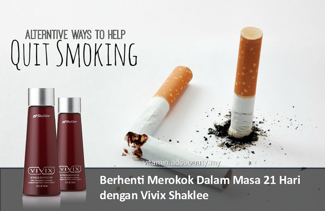 Testimoni Shaklee Berhenti Merokok