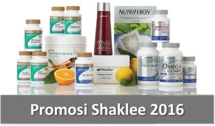 Promosi Shaklee 2016