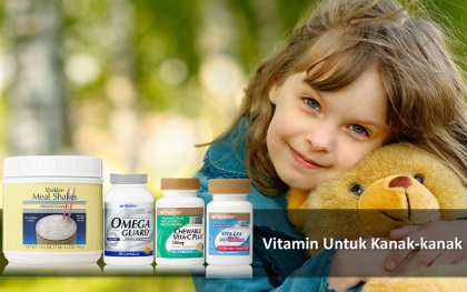 Vitamin Untuk Kanak-kanak Shaklee