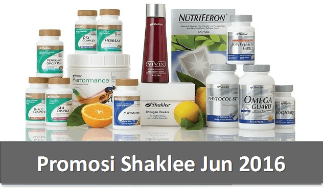 Promosi Shaklee Jun 2016