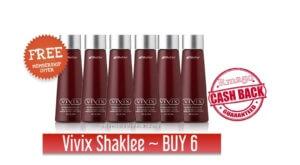 Vivix Shaklee 2017 – Daftar Ahli Shaklee Percuma – (BUY 6 FREE 1)