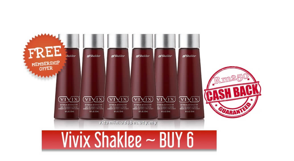 Harga Promosi Vivix Shaklee 2017