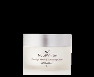NutriWhite Shaklee Overnight Renewal Whitening Cream Harga