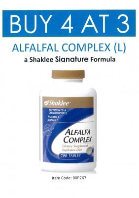 Senarai Harga Produk Shaklee 2016 ~ Promosi Shaklee May 2016 Alfalfa Shaklee