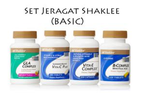 Set Jeragat Shaklee 2016 Harga