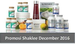 Promosi Shaklee December 2016