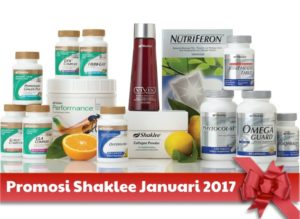 Promosi Shaklee Januari 2017