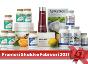 Promosi Shaklee Februari 2017