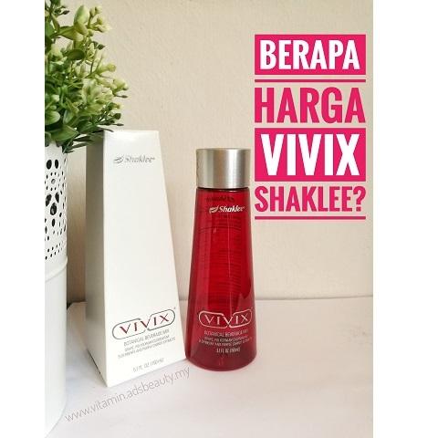 Vivix Shaklee Harga 2017 Berapa Harga