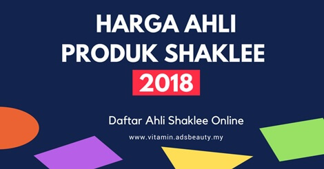 Harga Ahli Produk Shaklee 2018 Join Daftar Ahli Shaklee Online Percuma Senarai Harga Produk Shaklee 2018