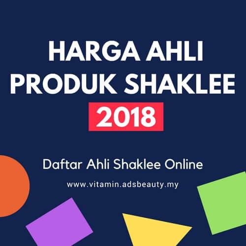Harga Ahli Produk Shaklee 2018 Join Daftar Ahli Shaklee Online Percuma