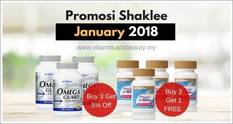 Promosi Shaklee January 2018 Promosi Shaklee Januari 2018 Daftar Ahli Shaklee Online