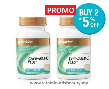 Harga Chewable Vitamin C Shaklee Harga Ahli Promo